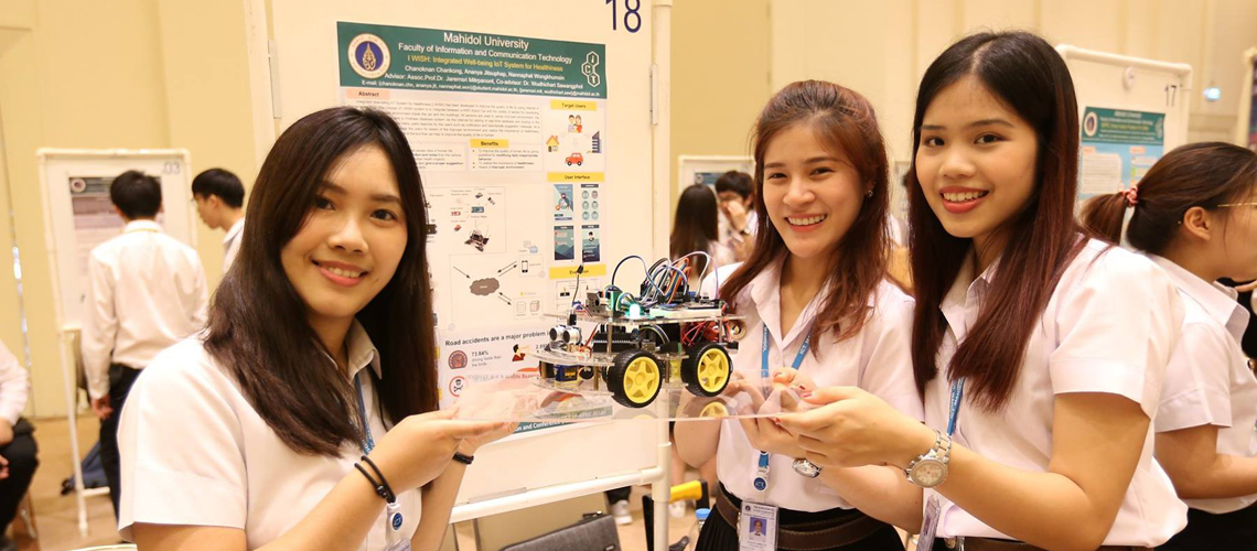 ICT มหิดล จัดงาน The 2018 9th ICT Senior Project Annual Poster Exhibition and Conference