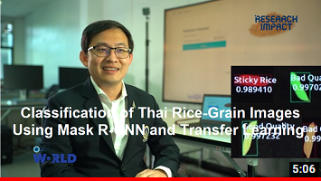 Classification of Thai Rice-Grain Images Using Mask R-CNN and Transfer Learning -Research Impact