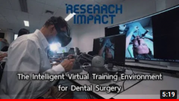 The Intelligent Virtual Training Environment for Dental Surgery-Research Impact